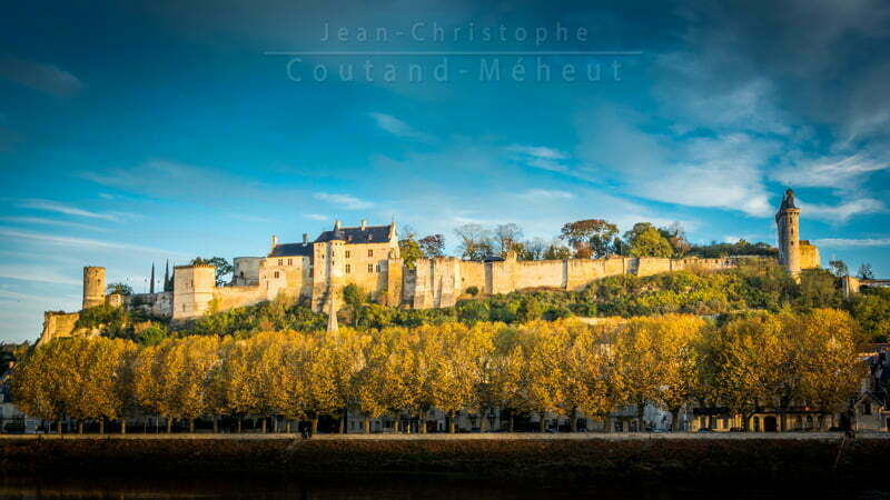 Forteresse royale de Chinon – Tirage d'art