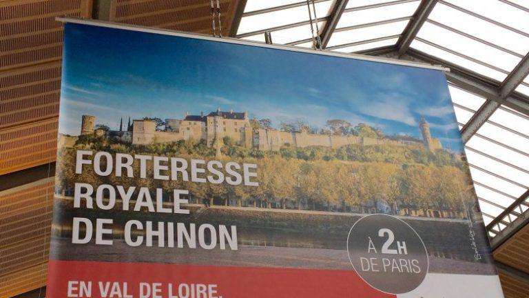 Campagne d'affichage à Paris Touraine et Loir-et-Cher