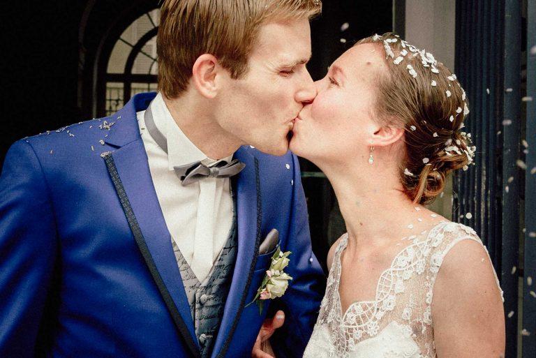 Photo de mariage à la mairie de Chinon