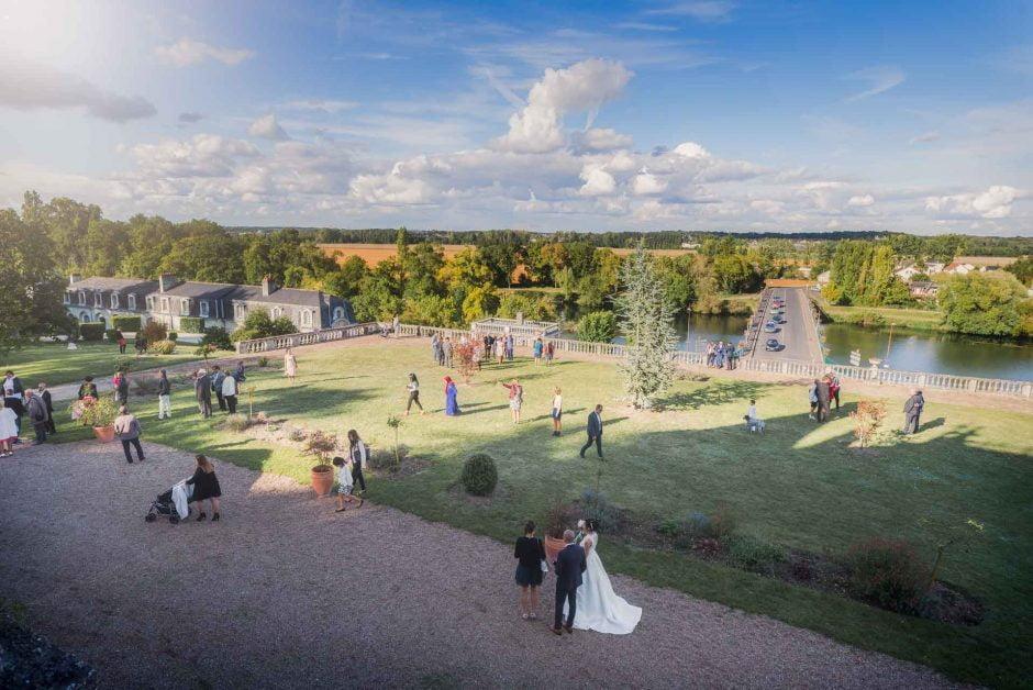 Photographe de mariage au château de Veretz