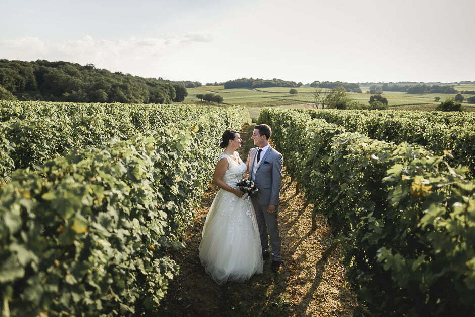 Photographe mariage vignes anjou