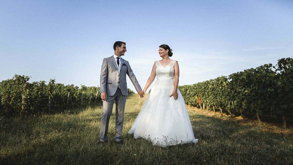 Photographe mariage vignes