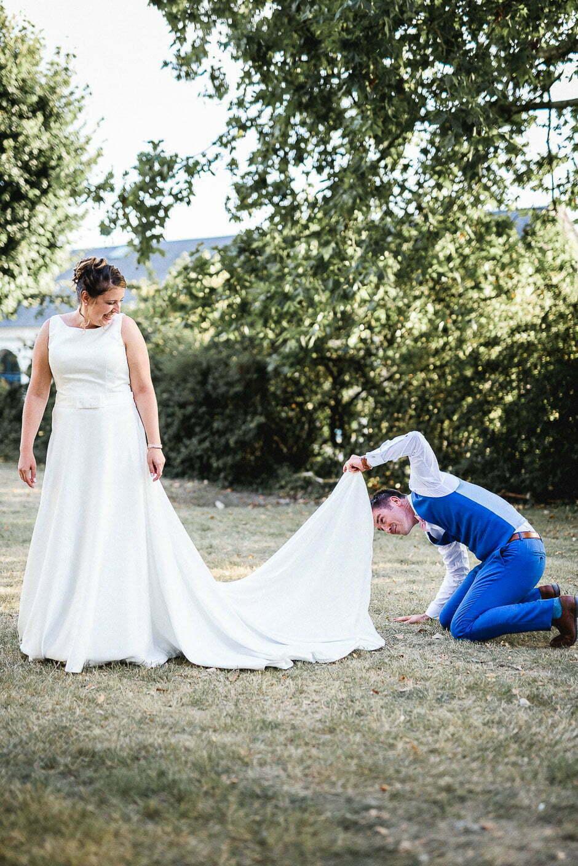Photographe mariage domaine de Roiffé