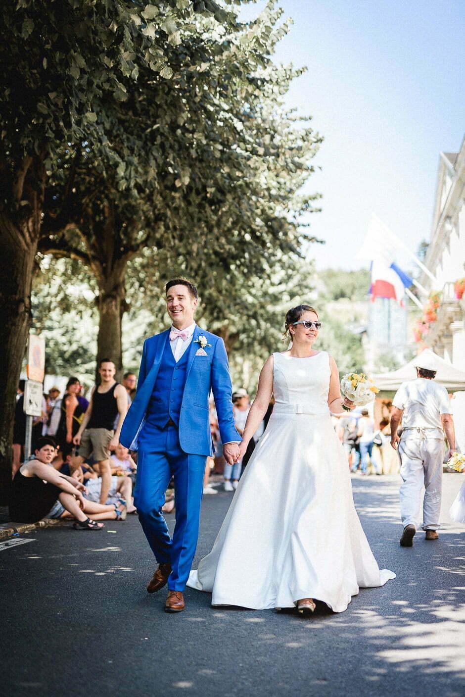 Mariage à Chinon
