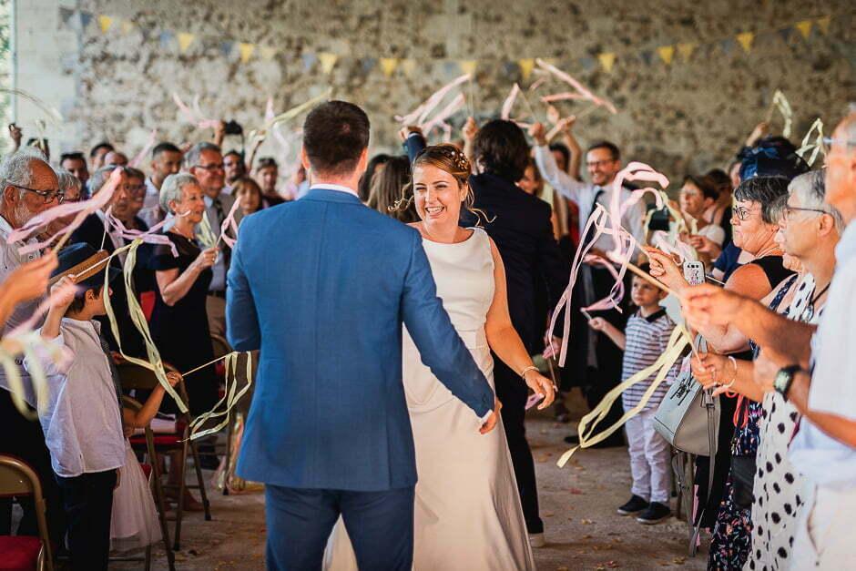 Mariage au domaine de roiffé dans les deux-sevres