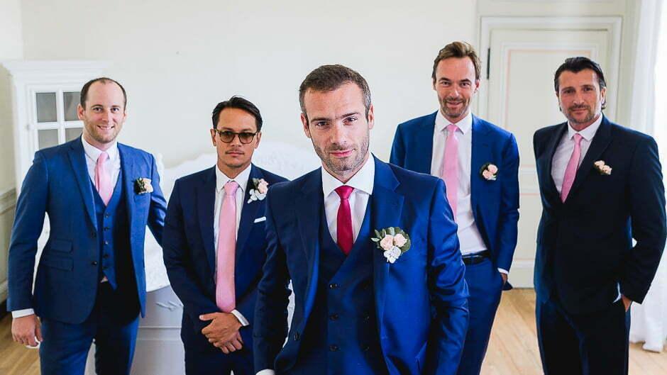Photographe de mariage Indre-et-Loire les garçons sont prêts