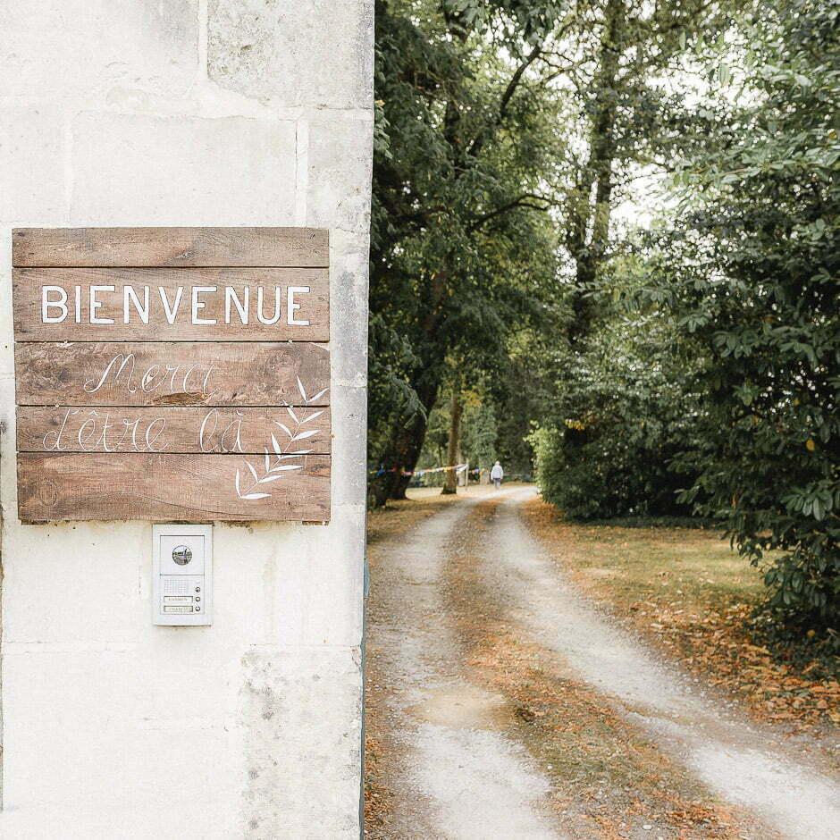 Photographe de mariage à Tours château de Saint-Senoch