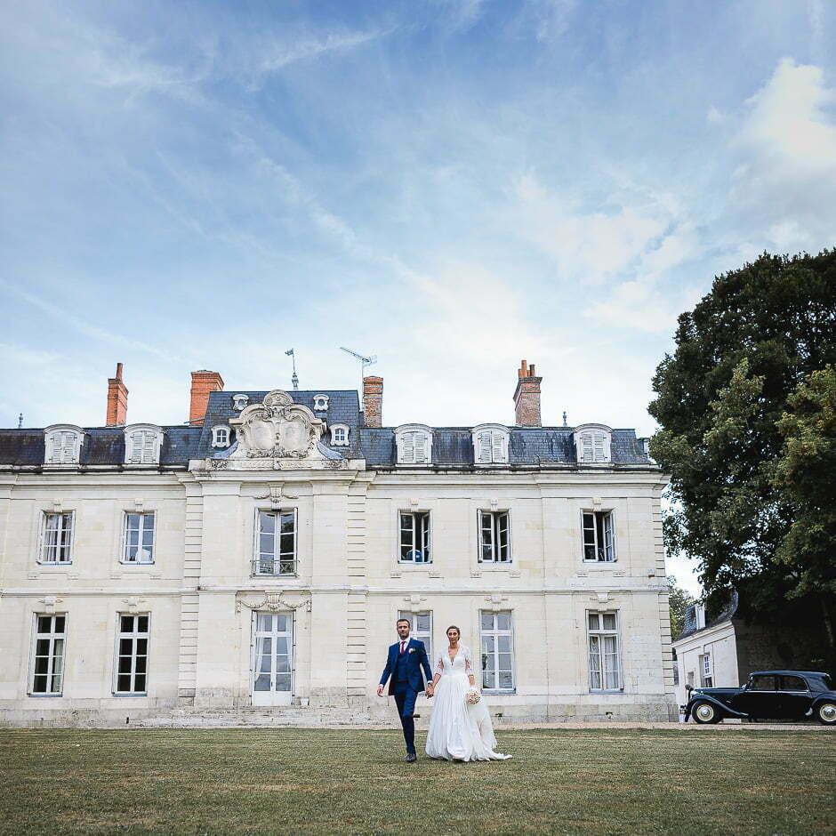 Photographe de mariage Indre-et-Loire château de Saint-Senoch