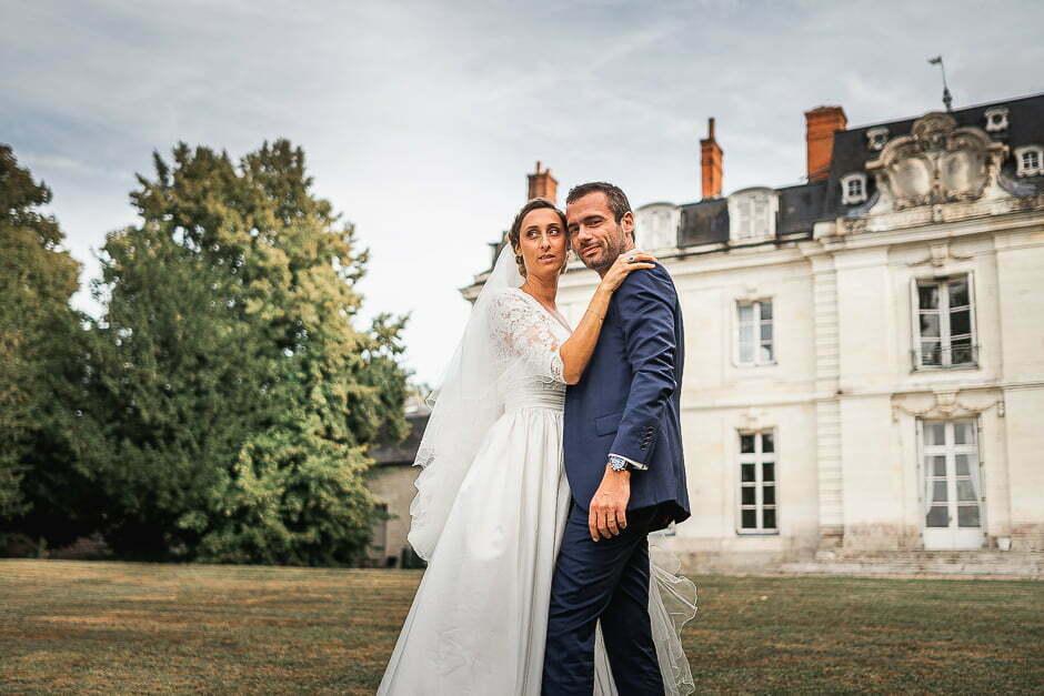 Mariage au chateau de Saint-Senoch en Touraine