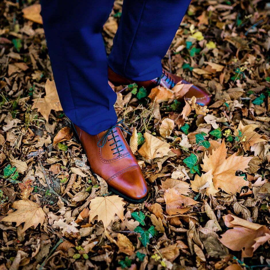 Photographe mariage Tours Domaine de la Bergerie chaussures