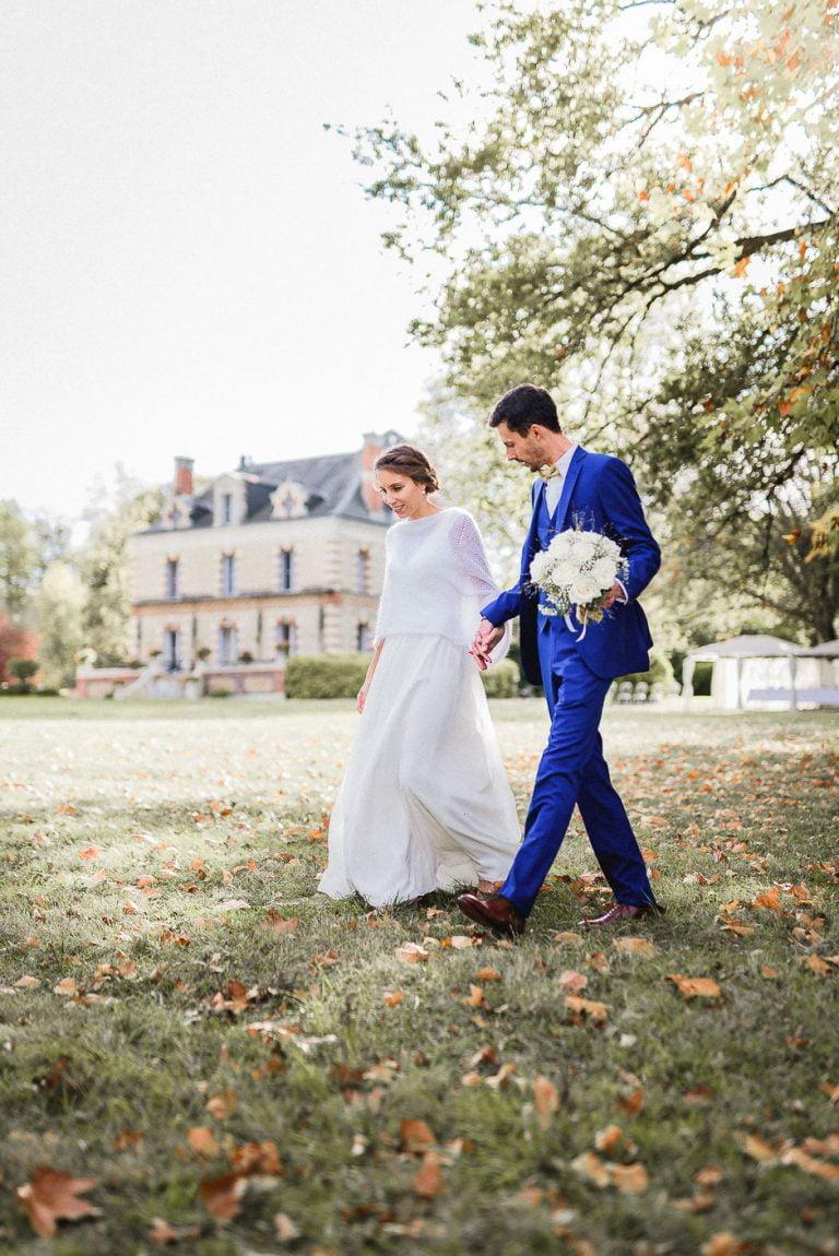 Photographe mariage chinon Domaine de la Bergerie