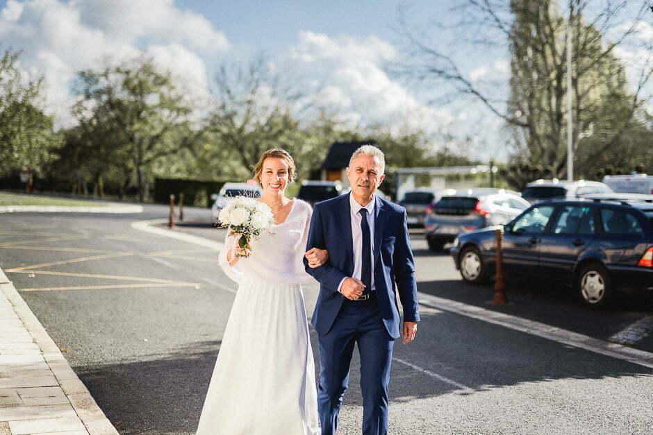 Photographe mariage Tours cérémonie église