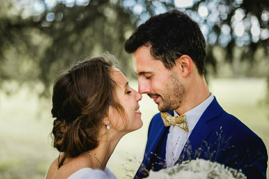Photographe mariage couple Tours Domaine de la Bergerie