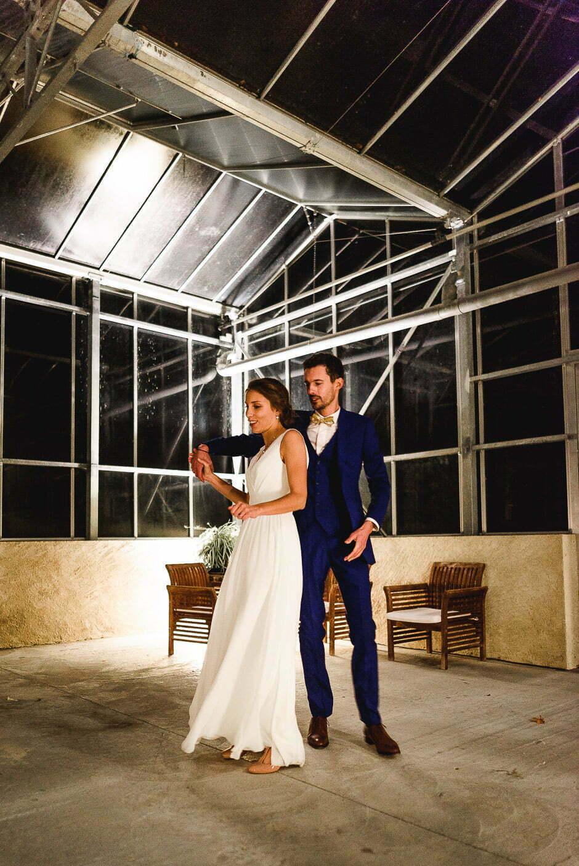 Photographe mariage Tours Domaine de la Bergerie danse