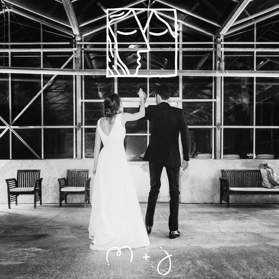 Photographe mariage Tours Domaine de la Bergerie noir et blanc photo