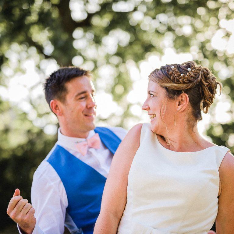 Couple de marié au golf de roiffé