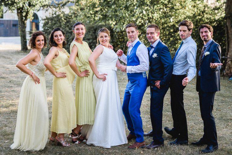 Mariage du domaine de roiffé