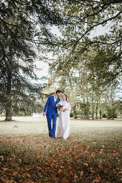 Au domaine photographe de mariage loire valley