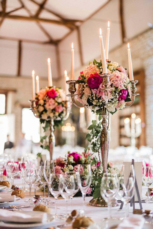 Décoration de table de mariage tours
