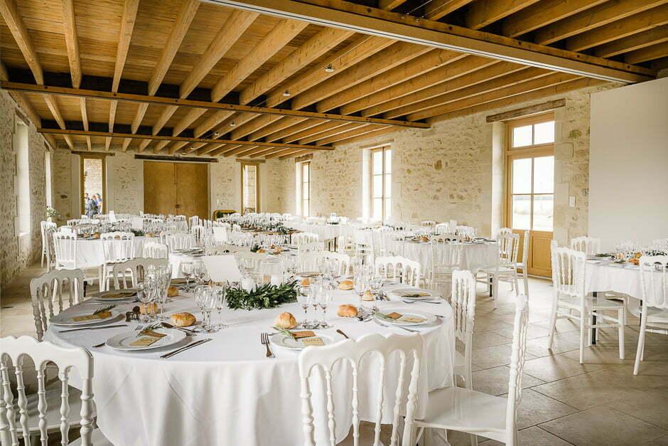 Photographe de mariage décoration de la table d'un mariage