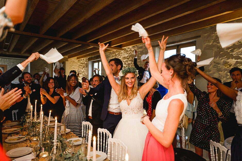 Photographe de mariage au domaine de la Volière
