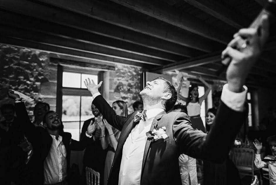 Discours du marié en début de soirée