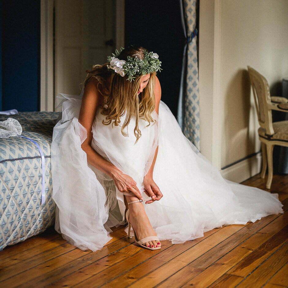 Photographe de mariage Tours château de Brou