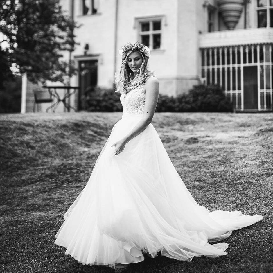 Photographe de mariage château de Brou