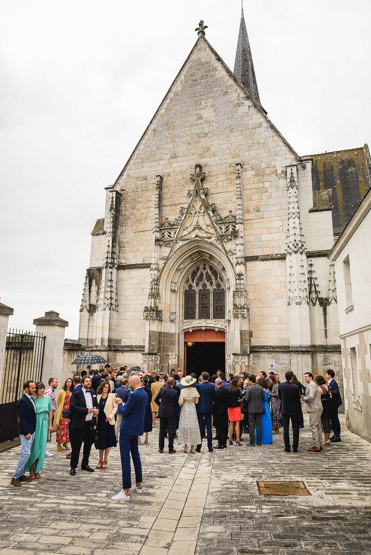Eglise mariés en Touraine