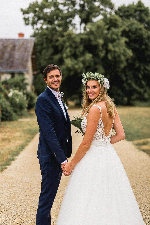 photographe de mariage Couple au domaine de la volière
