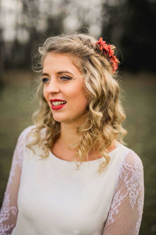 la mariée en photo