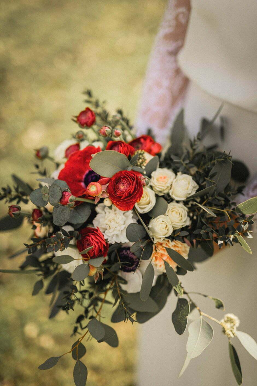 Bouquet de fleurs de domitille