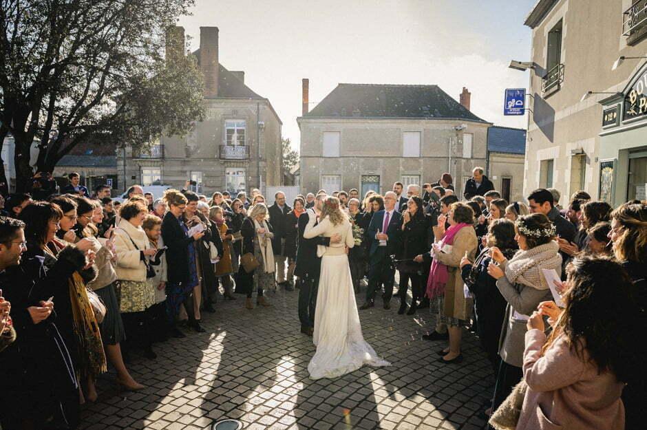 mariage à l'église Trogalière