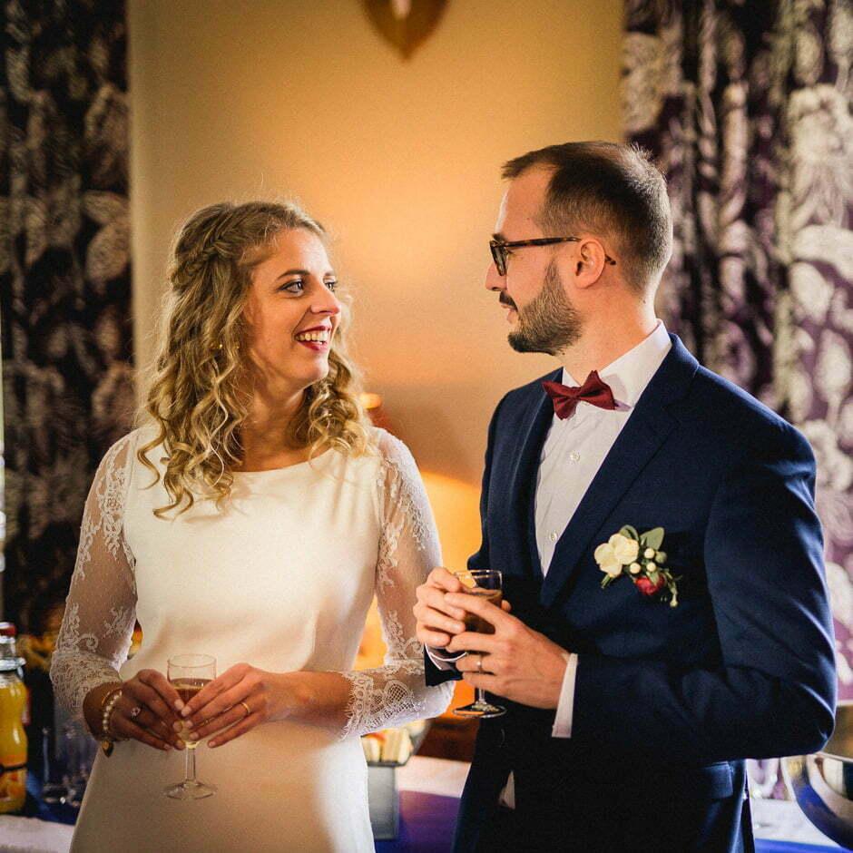 discours des mariés au vin d'honneur