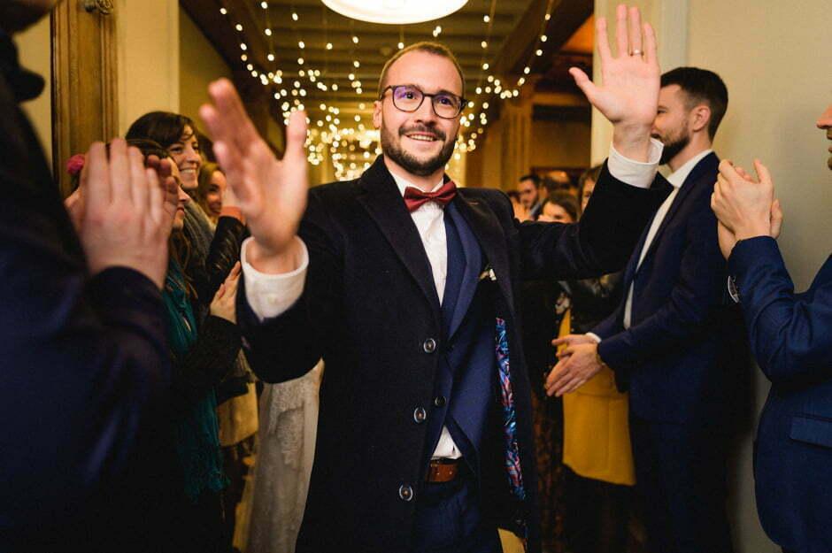 arrivé du marié