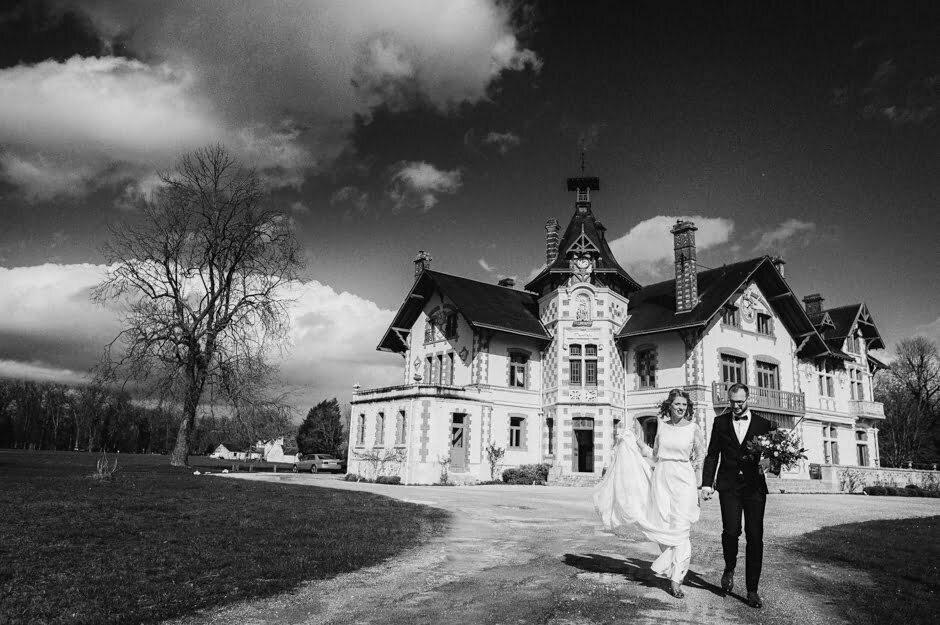 mariage au domaine de la trigalière en Touraine