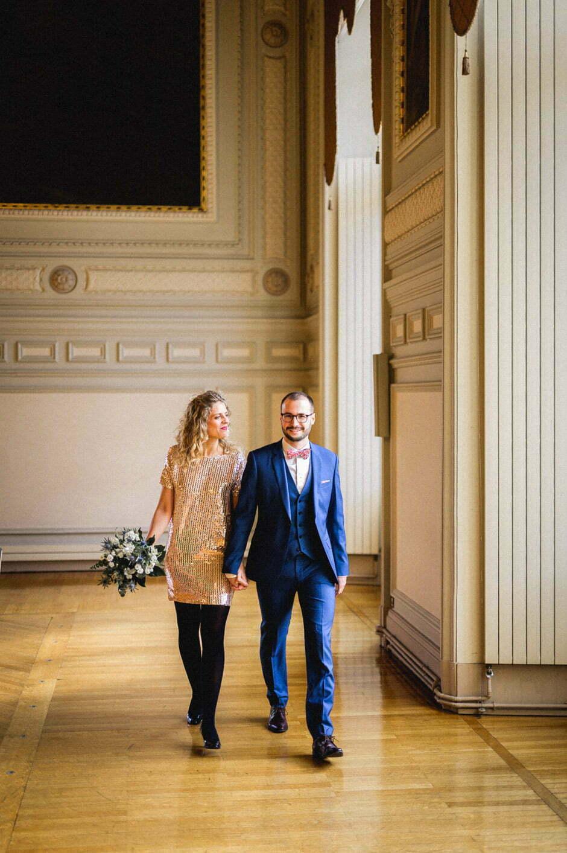 Mariage à l'hôtel de ville de Tours