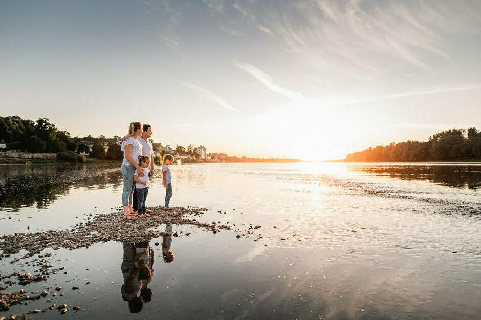 photographe famille à Candes-Saint-Martin séance photos